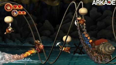 Donkey Kong Country Returns (Wii) Review - O retorno do macacão