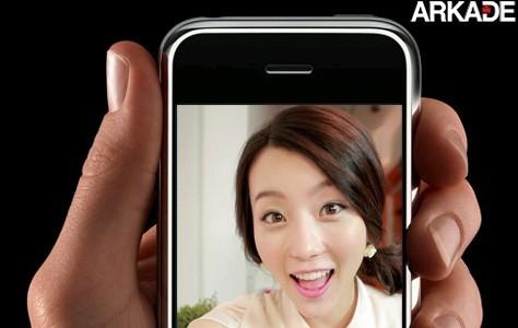 "namoradavirtual ""Namorada virtual"" liga para solteiros pelo iPhone"