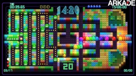 Novo jogo Pac-Man moderniza a clássica série dos arcades