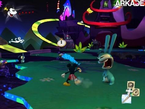 Epic Mickey (Wii) Review - Nem tão épico quanto imaginávamos