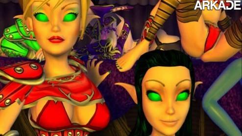 BoneCraft: World of Warcraft e StarCraft ganham paródia pornô
