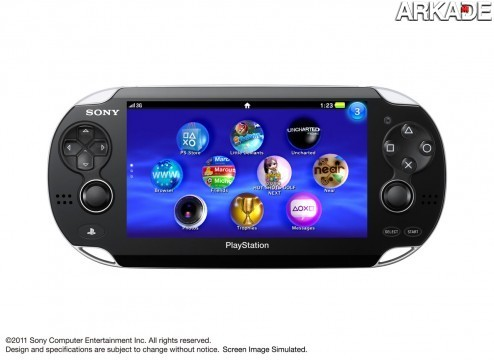 Sony revela Projeto NGP, o sucessor do PSP
