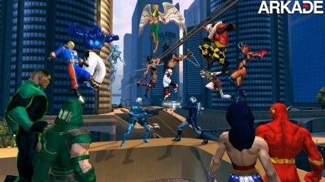DC Universe Online DC Universe Online é o grande destaque da semana; confira