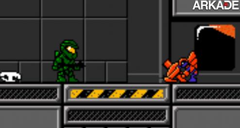 Halo ganha demake em 8-bits; baixe agora gratuitamente!
