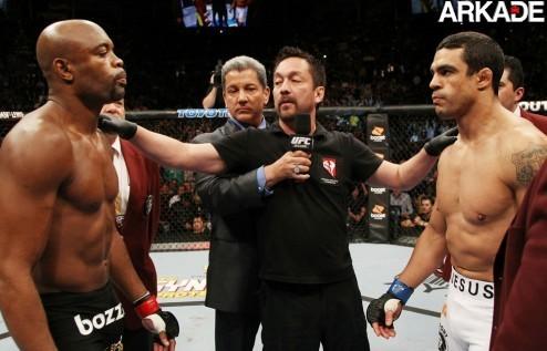 Versão gamer da luta Anderson Silva Vs. Vitor Belfort (vídeo)