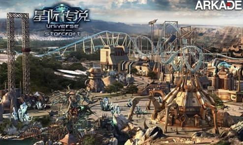 Estaria a Blizzard inaugurando um parque de diversões na China?