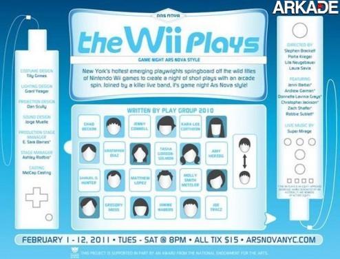 Nintendo Wii inspira série de mini-peças de teatro em Nova Iorque