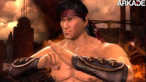 Liu Kang é o astro no trailer inédito do novo Mortal Kombat