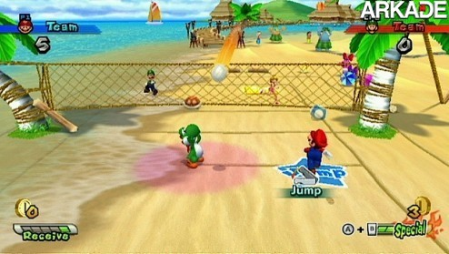 Mario Sports Mix (Wii) - Review: Pouca diversão para um jogo do Mario