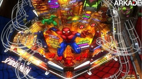Pinball FX 2 + Marvel Pinball (X360) Review: Fliperama no Xbox