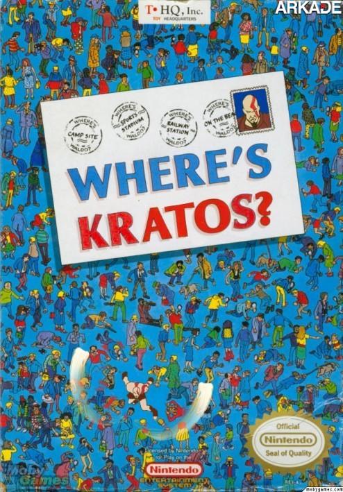 E se Kratos aparecesse em diversos jogos de videogame?