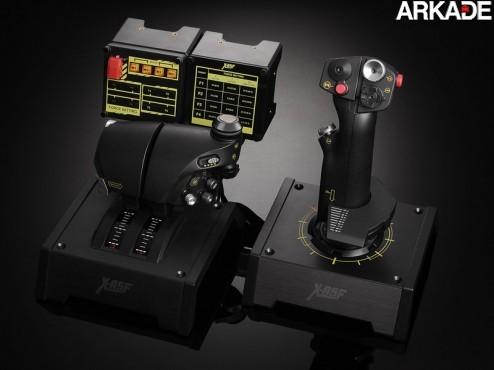 Saitek X-65F: o joystick mais caro do mundo!