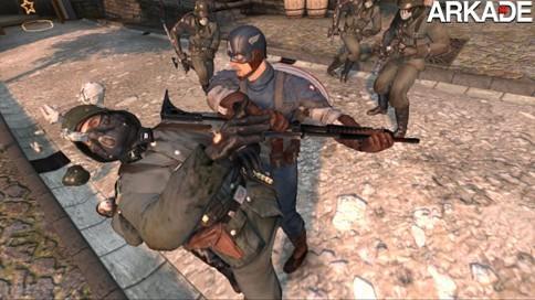 Novo game do Capitão América ganha trailer e imagens