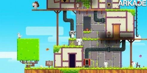 noticias Fez, um jogo que mistura 2D e 3D, fará você lembrar de Paper Mario