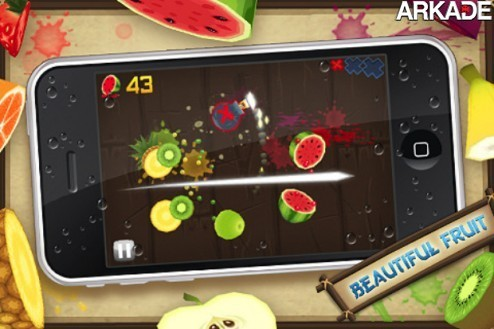 fruit ninja walkthrough screenshot beautiful fruit artwork1 Fruit Ninja, jogo para celulares, ultrapassa 20 milhões de downloads
