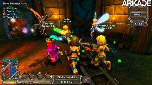 Dungeon Defenders: um jogo com multiplayer entre PC, PS3 e celular