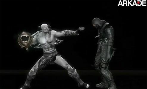 Mortal Kombat: Veja um novo vídeo com golpes e armas de Kratos