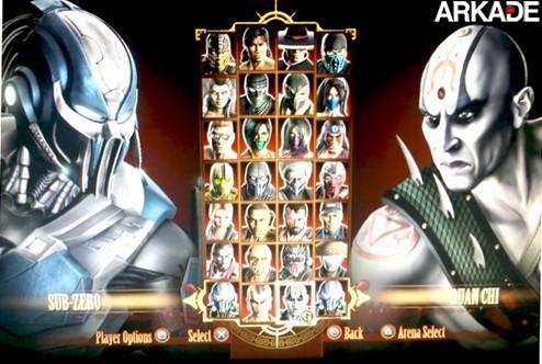 mk Lista completa dos 26 lutadores do Mortal Kombat e primeiros DLCs