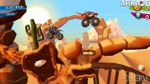 MotoHeroz, para Wii mistura jogo de corrida com plataforma