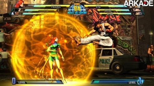 mvc3big1 Marvel vs Capcom 3   Combos, mais combos e o infinito de Akuma