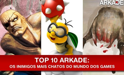 TOP10 Top 10 Inimigos mais chatos e irritantes do mundo dos games