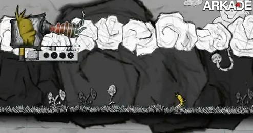 Chester: um game indie de plataforma em 2D literalmente feito à mão