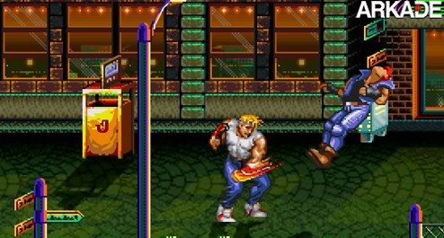 streetsremake Streets of Rage: fãs criam remake turbinado do clássico dos 16 bits
