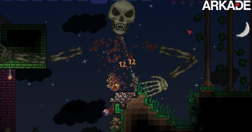 terraria Terraria: um game de plataforma em 2D inspirado em Minecraft