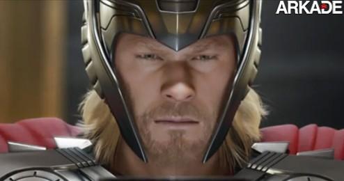 Thor - God of Thunder: novo trailer apresenta a origem do herói