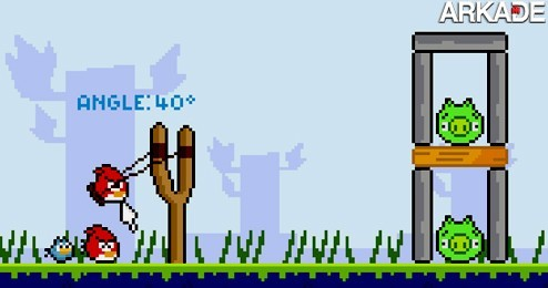 Angry Birds: já pensou como seria uma versão 8 bits do game?