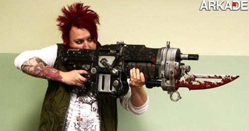 gears 1 Já pensou em ter a sua própria Retro Lancer igual a de Gears of War?