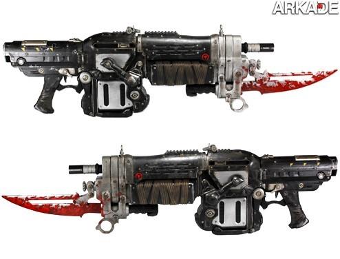 gears 2 Já pensou em ter a sua própria Retro Lancer igual a de Gears of War?
