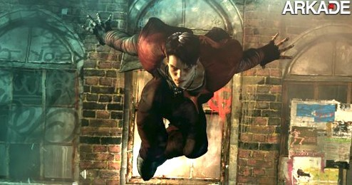 DMC DMC: o novo Devil May Cry recebe vídeo de gameplay do Dante emo