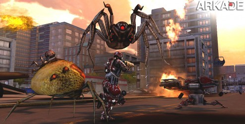 Earth Defense Force Insect Armageddon: lute contra insetos gigantes