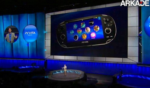 Sony PS Vita Arkade PS Vita, Uncharted 3, PS Move e 3D: a conferência da Sony na E3 2011