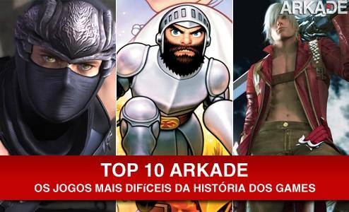 especiais Top 10: Jogos mais difíceis da história dos games