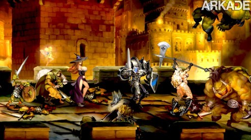 dragons crown arkade Dragons Crown: um belo hack n slash 2D com cara de pintura