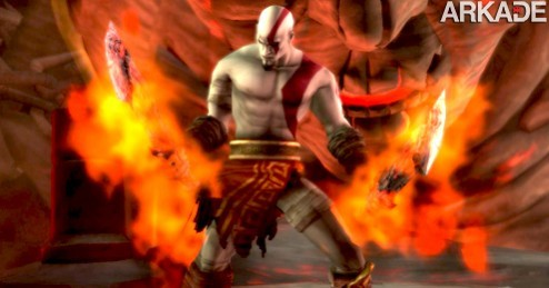 kratos God of War Origins: gameplay dos jogos de Kratos do PSP para PS3