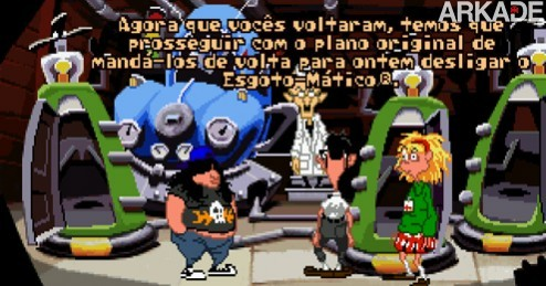 tent 03 Jogue o clássico Day of the Tentacle com legendas em português!