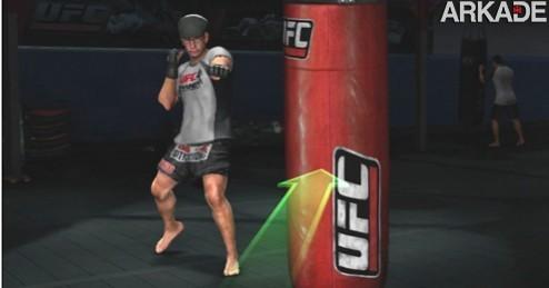 ufc trainer xbox 360 UFC Personal Trainer: um game de ginástica para macho