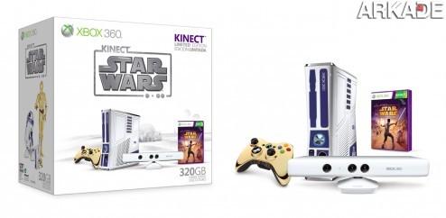 07 21Group Web1 Xbox 360 vai ganhar edição especial que homenageia Star Wars!