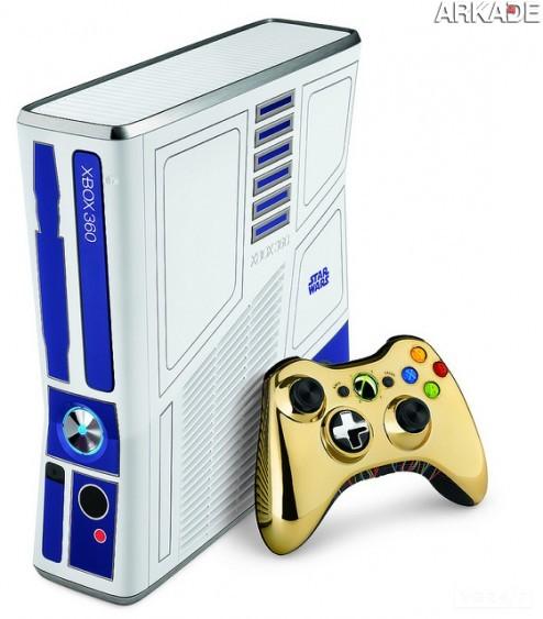 5959694331 6032374118 z1 Xbox 360 vai ganhar edição especial que homenageia Star Wars!