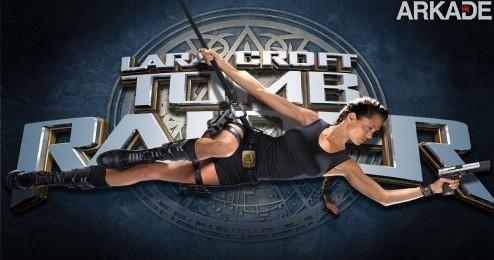 Angelina+Jolie+em+Tomb+Raider1 Tomb Raider: novo filme deve sair em 2013, sem Angelina Jolie