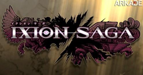 ixion saga logo Ixion Saga: conheça o novo RPG online da Capcom