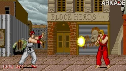 01+ +Street+Fighter1 Street Fighter completa 24 anos! Relembre o primeiro game da série!