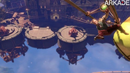 Bioshock Infinite (PC, PS3, X360) Preview: uma utopia ideológica flutuante