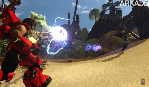 Fire Fall: um MMO de tiro que se passa em pleno nordeste brasileiro