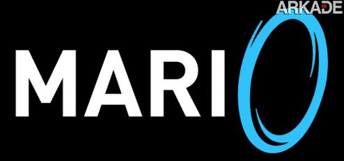 RfoNA1 Super Mario com Portal guns: a piada vai virar um game de verdade!