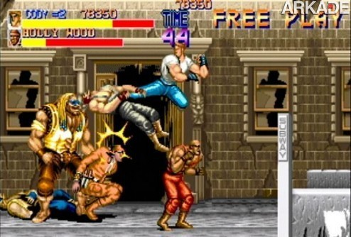 final fight imagem 21 Classicos: Final Fight (arcade)   o pai da pancadaria beat em up