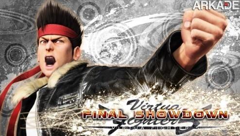 Virtua Fighter 5: versão final do game chega ao ocidente em 2012